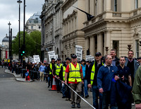 Police Federation protest march 10-5-2012